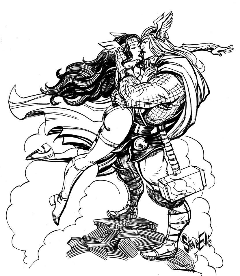 Coloriage Mythologie Nordique #110598 (Dieux et Déesses ...