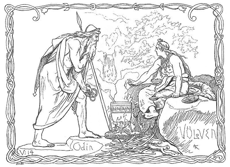 Coloriage Mythologie Nordique #110817 (Dieux et Déesses ...