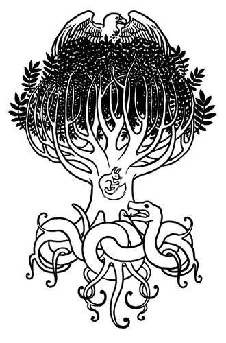 Coloriage Mythologie Nordique #110894 (Dieux et Déesses ...