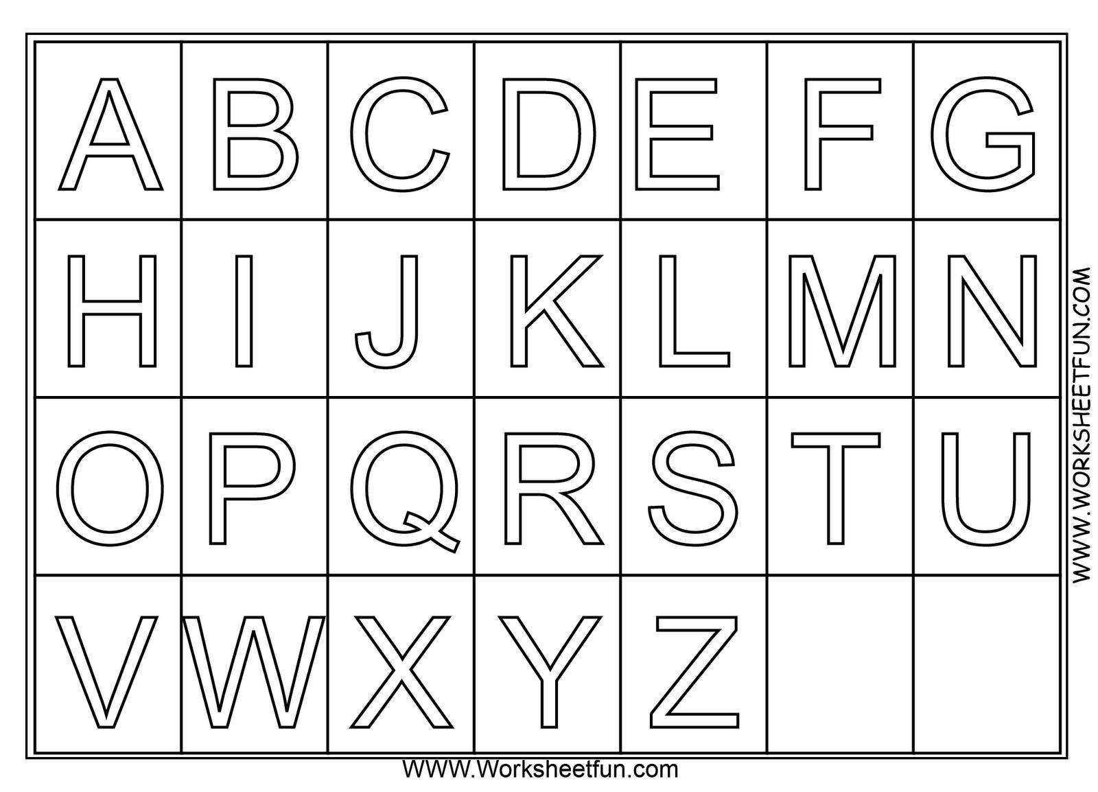 Coloriages Alphabet Éducatifs – Album de coloriages