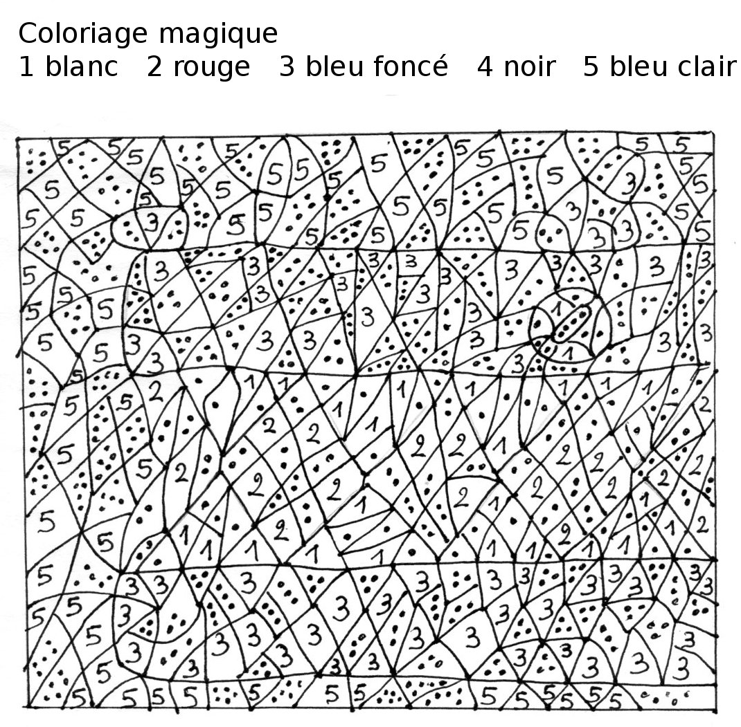 Coloriages Coloriage magique (Éducatifs) - Page 2 - Album ...