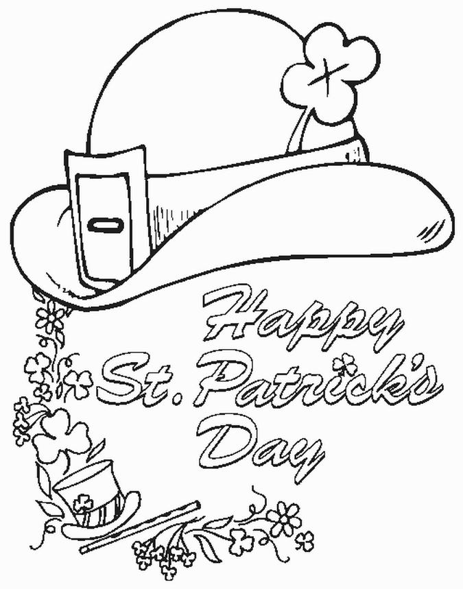 Coloriage Saint Patrick #57926 (Fêtes et Occasions ...
