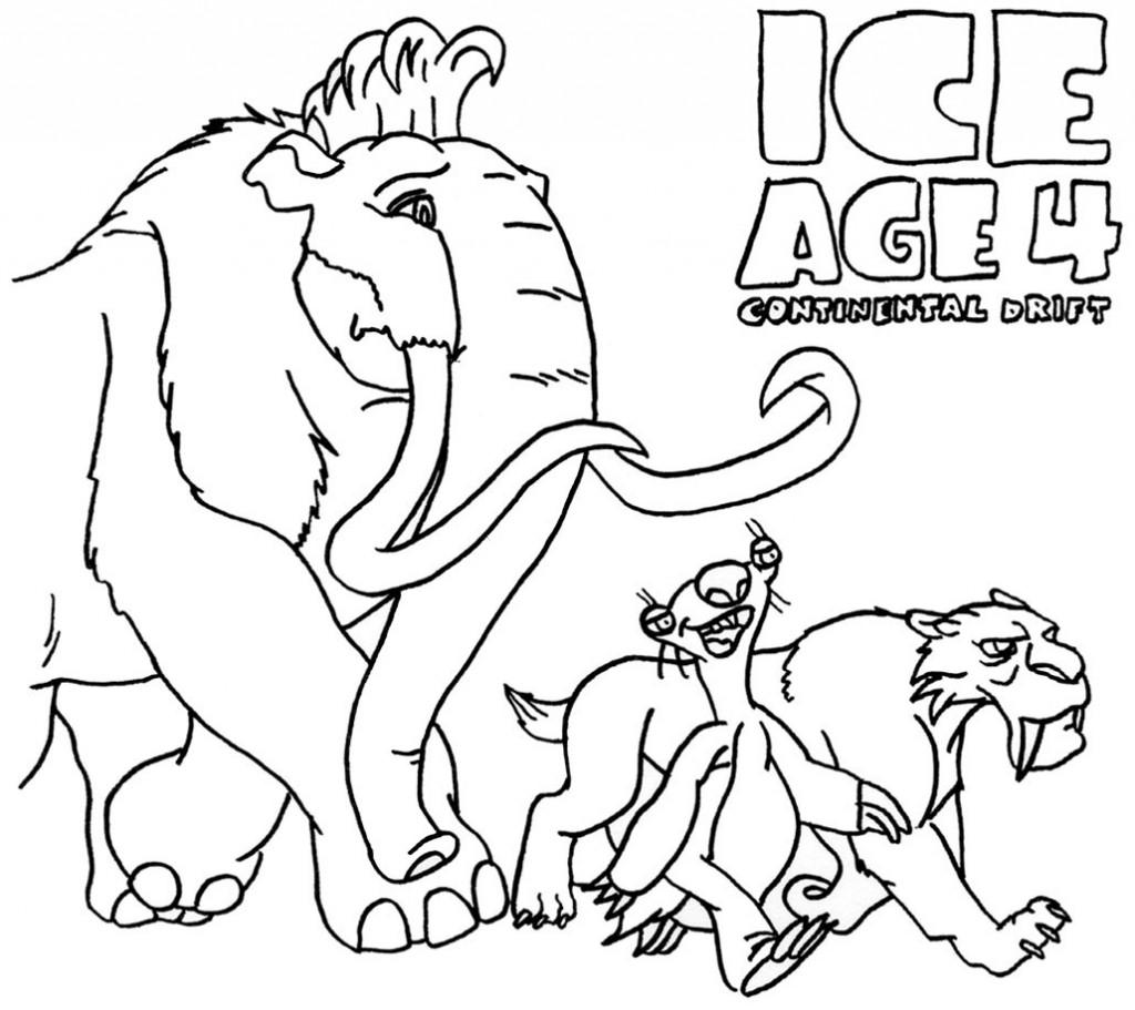 Coloriages Âge de Glace (Films d'animation) - Album de ...