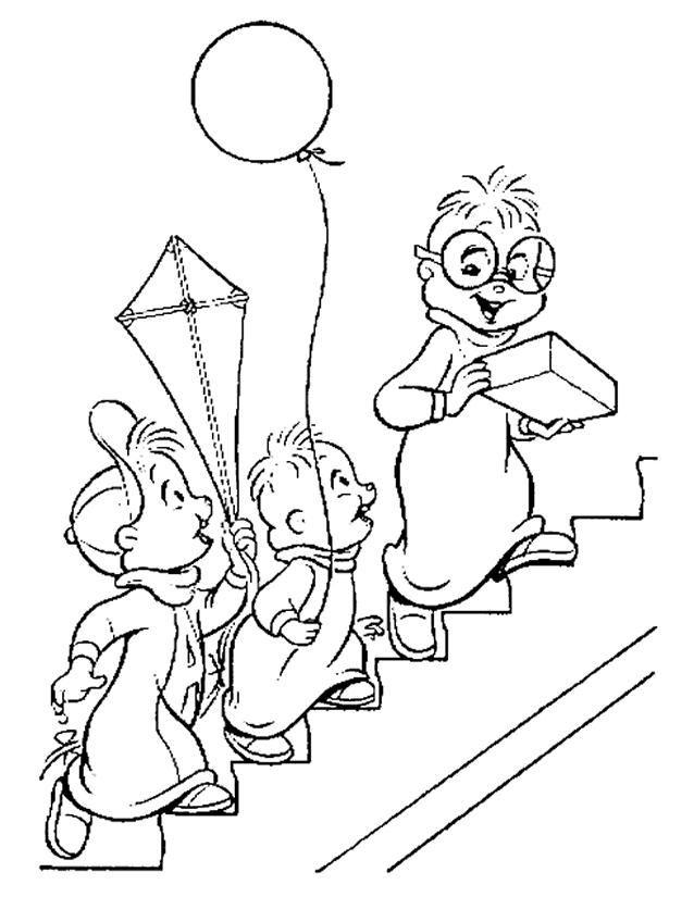 Coloriage Alvin et les Chipmunks #128255 (Films d ...