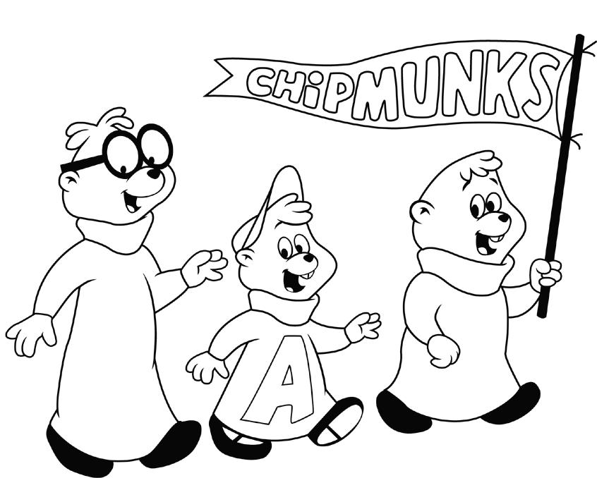 Coloriage Alvin et les Chipmunks #128311 (Films d ...