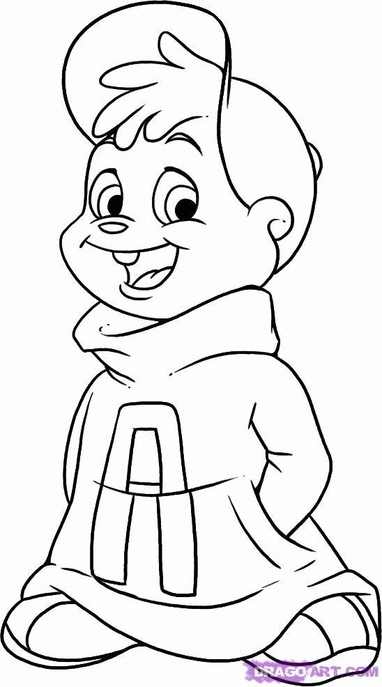 Coloriage Alvin et les Chipmunks #128389 (Films d ...