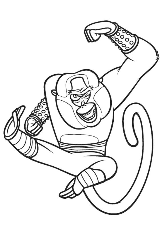 Coloriage Kung Fu Panda #73319 (Films d'animation) - Album ...