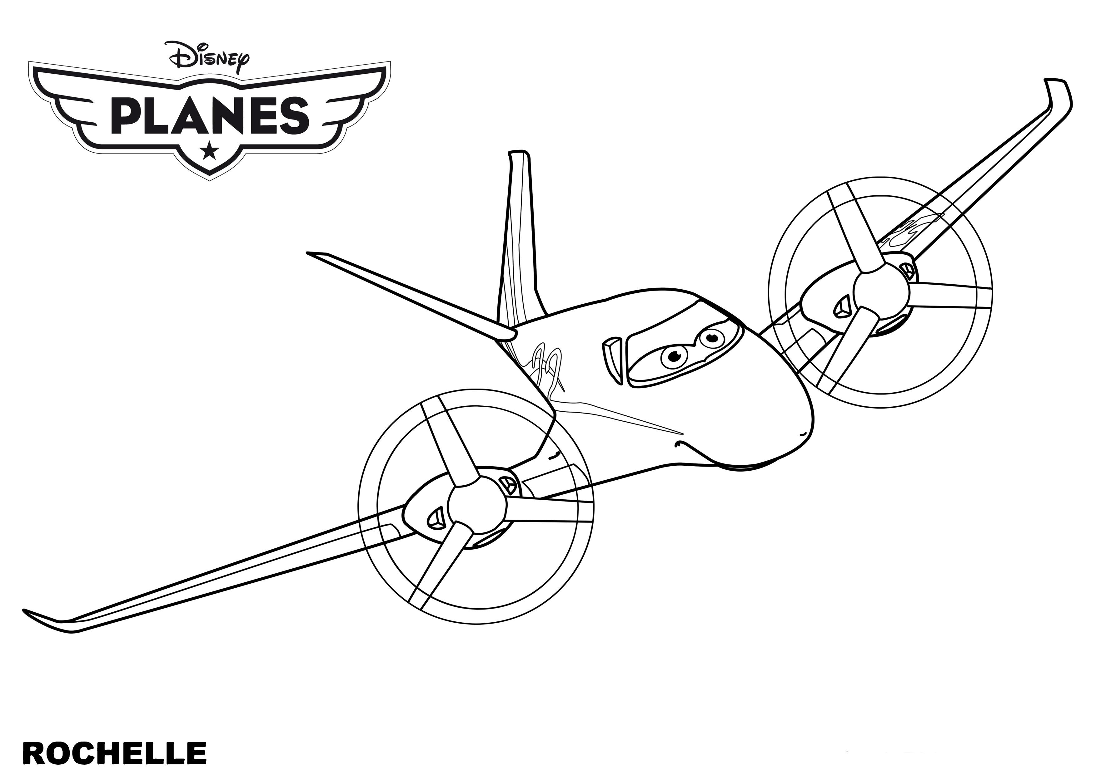 Coloriages Les Avions (Planes) (Films d'animation) - Album ...