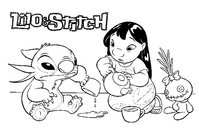 Coloriage Lilo & Stitch #45072 (Films d'animation) - Album ...