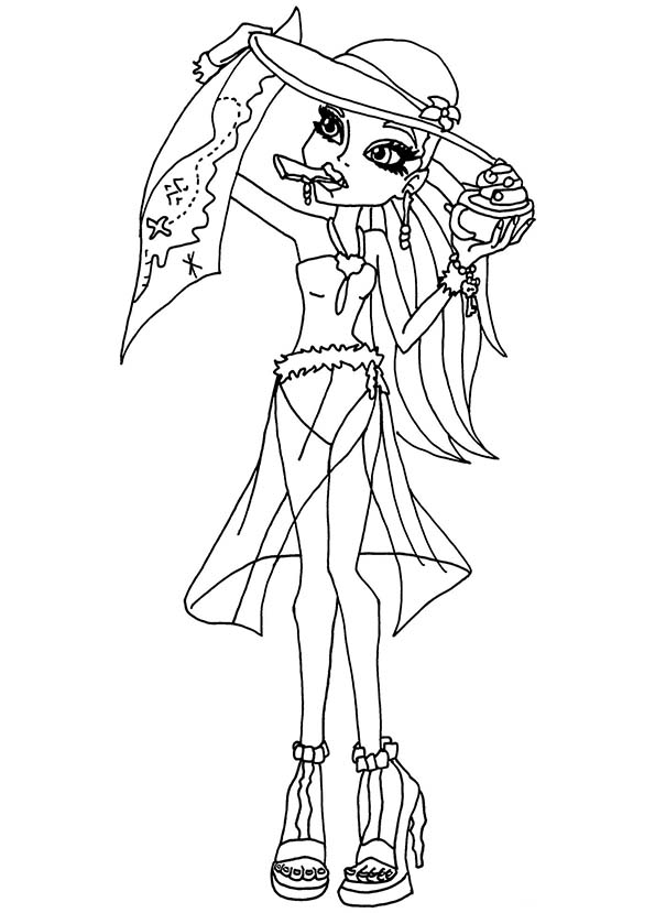 Coloriage Monster High #31 (Films d'animation ...