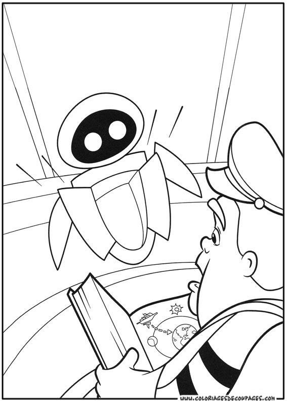 Coloriage Wall-E #132082 (Films d'animation) - Album de ...