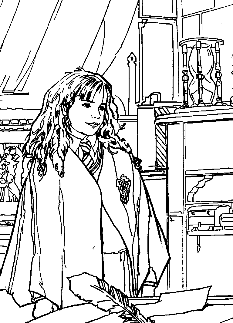 Coloriage Harry Potter #19 (Films) - Coloriages à imprimer