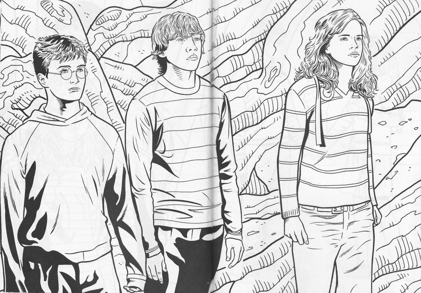 Coloriages Harry Potter (Films) - Page 8 - Album de coloriages