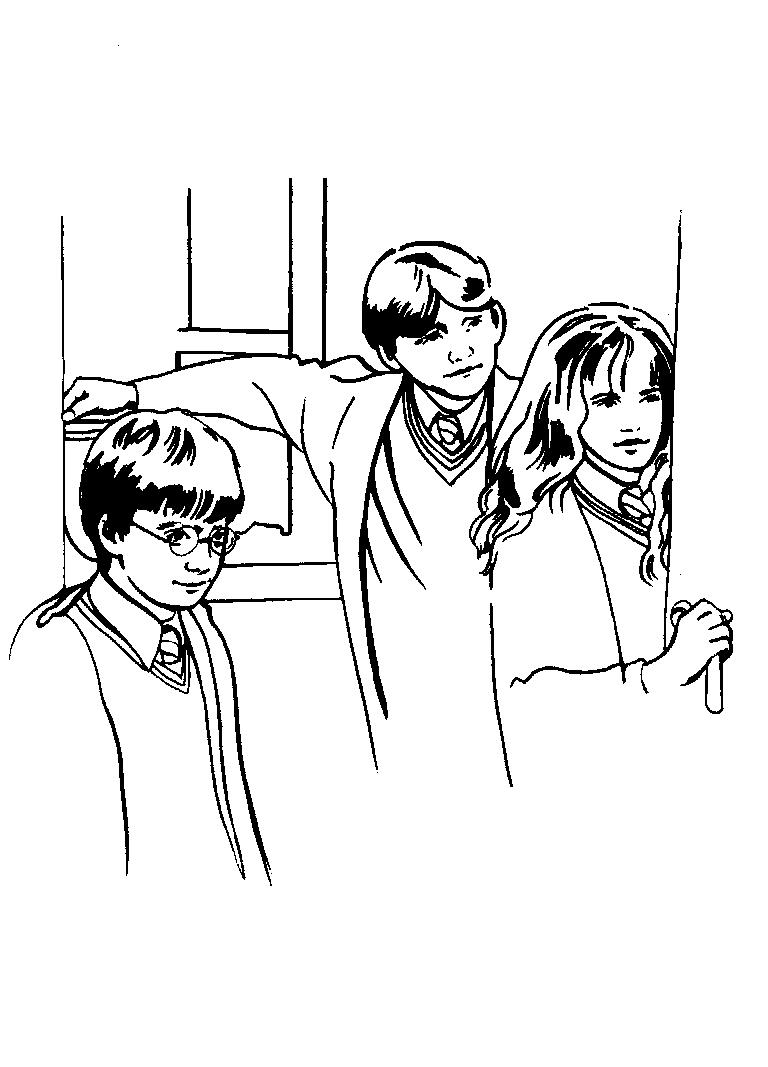 Coloriage Harry Potter #69800 (Films) - Album de coloriages