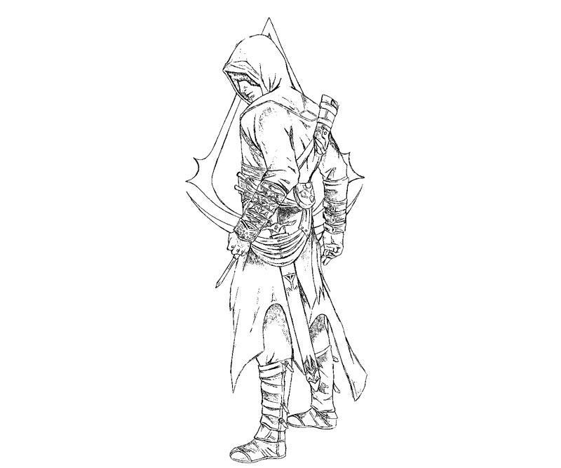 Coloriages Assassin S Creed Jeux Videos Album De Coloriages