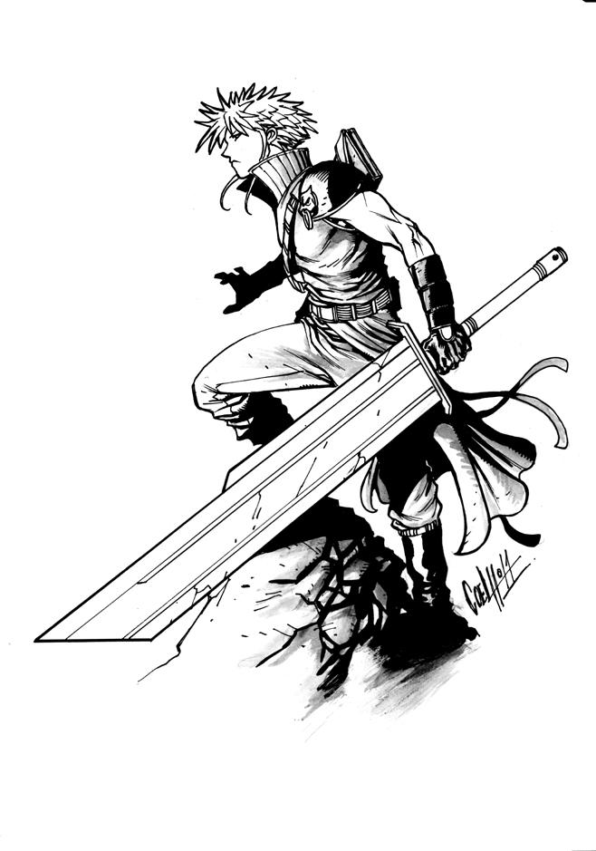 Coloriage Final Fantasy #116629 (Jeux Vidéos) - Album de ...