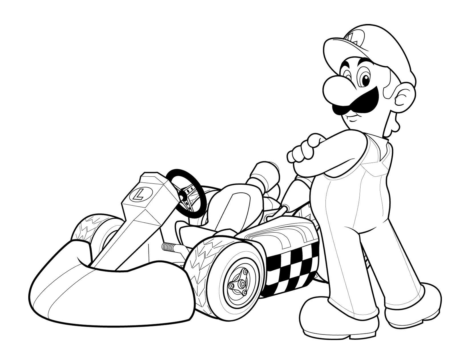 Coloriage Mario Bros #112478 (Jeux Vidéos) - Album de ...