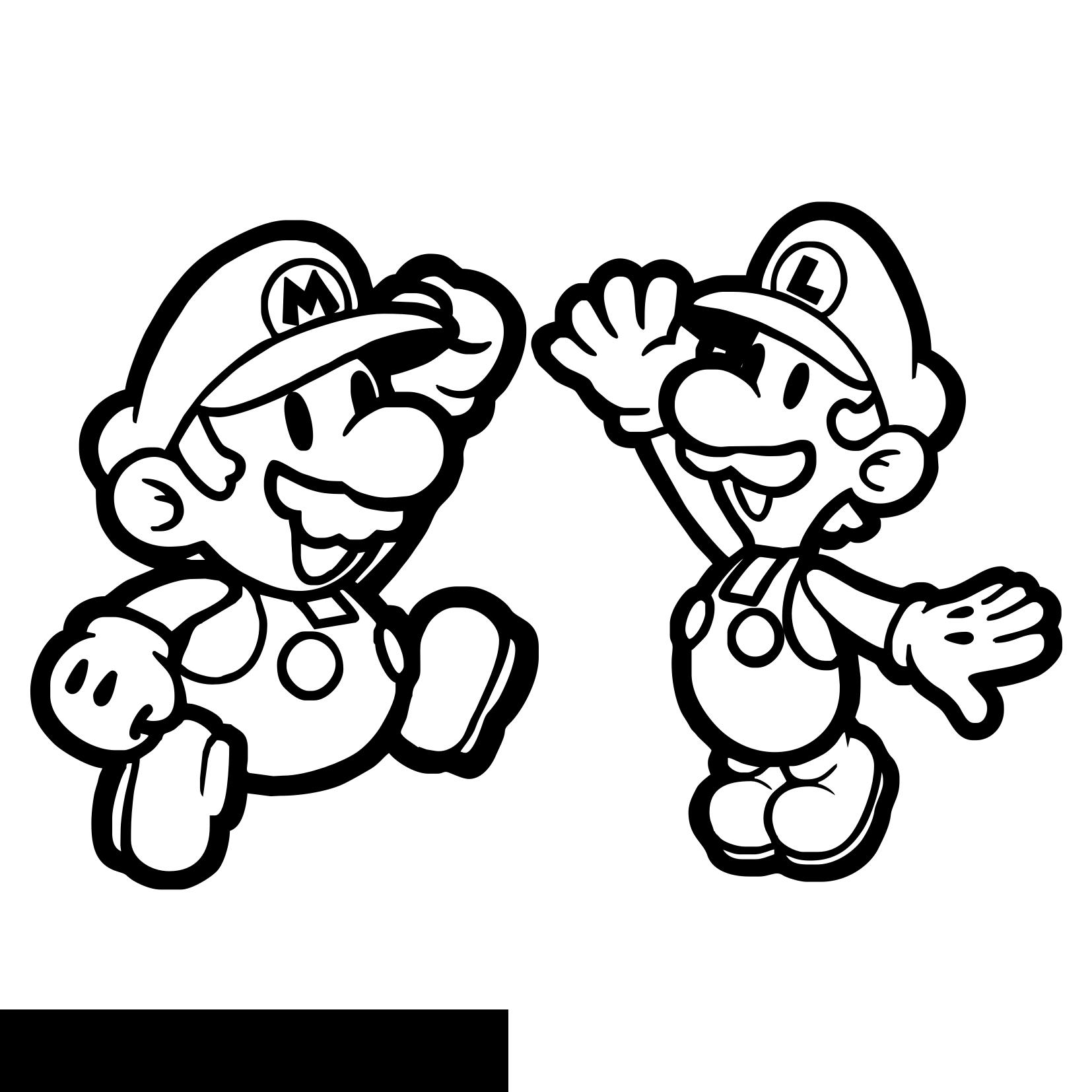 Coloriages Mario Bros Jeux Videos Album De Coloriages