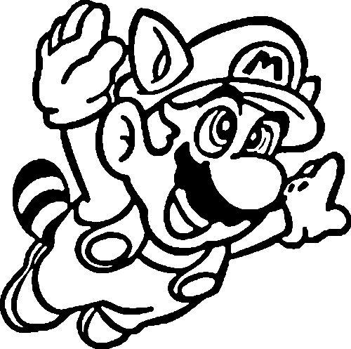 Coloriage Mario Bros #112563 (Jeux Vidéos) - Album de coloriages