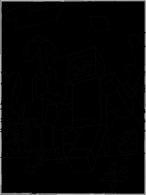 Coloriage Minecraft #113789 (Jeux Vidéos) - Album de ...