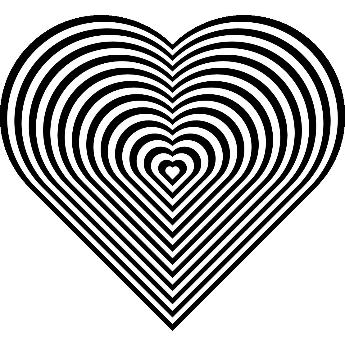 Coloriage Mandalas Coeur #116710 (Mandalas) - Album de ...
