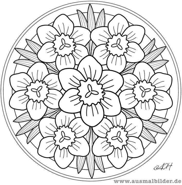 Coloriages Mandalas Fleurs Mandalas Album De Coloriages