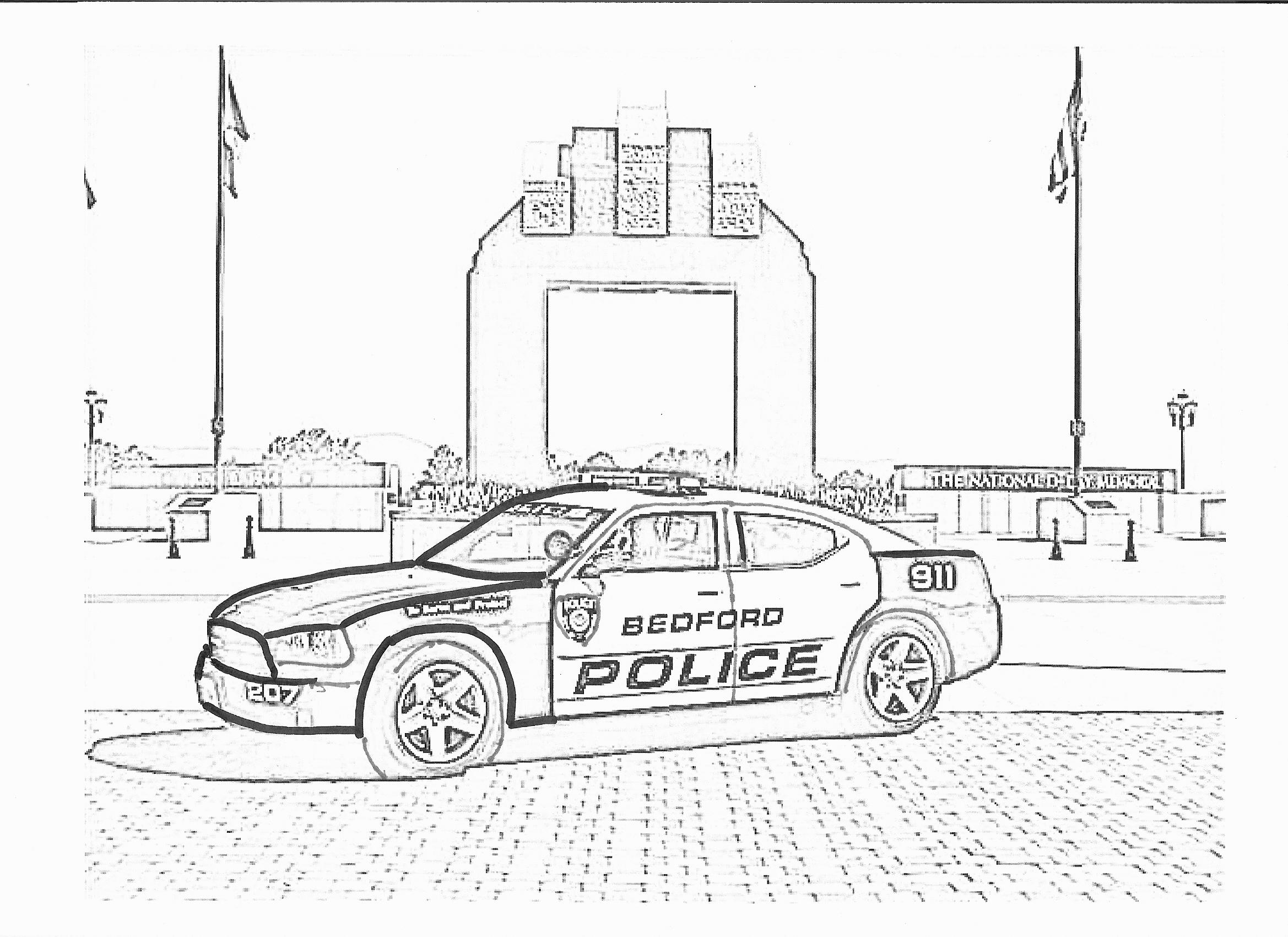 Coloriage Policier #71 (Métiers et Professions) - Coloriages à imprimer