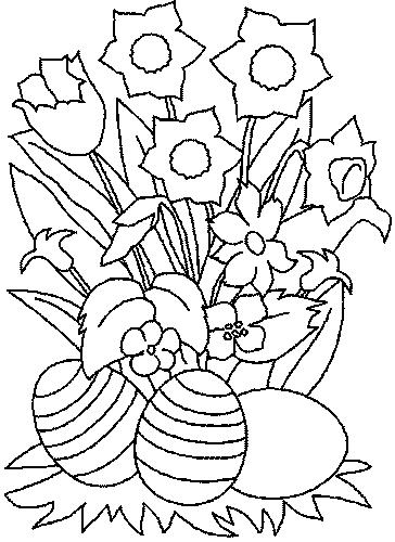 Coloriage Bouquet de fleurs #115 (Nature) - Coloriages à ...