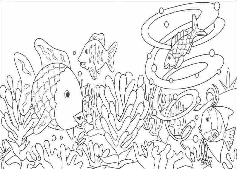 Coloriage Corail #162794 (Nature) - Album de coloriages
