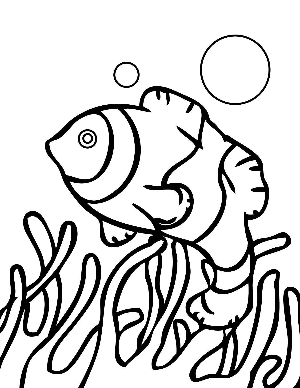 Coloriage Corail #23 (Nature) - Coloriages à imprimer