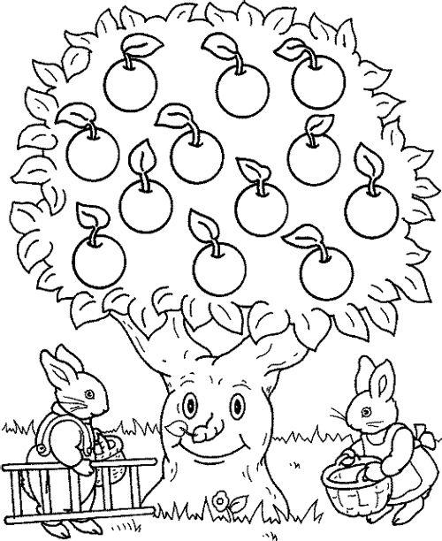 Coloriage Pommier #61 (Nature) - Coloriages à imprimer