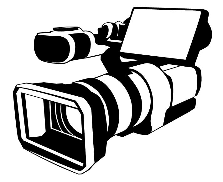 Coloriages Caméra vidéo (Objets) - Coloriages à imprimer