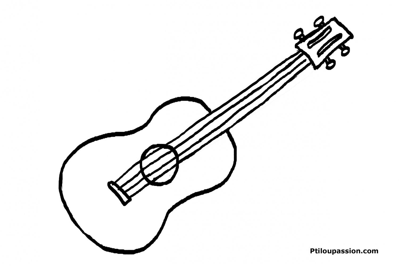 Coloriage Instruments De Musique 167135 Objets Album De Coloriages
