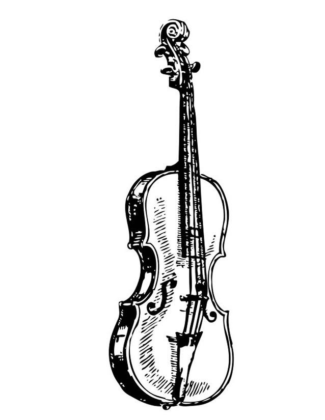 Coloriage Instruments de musique #177 (Objets ...