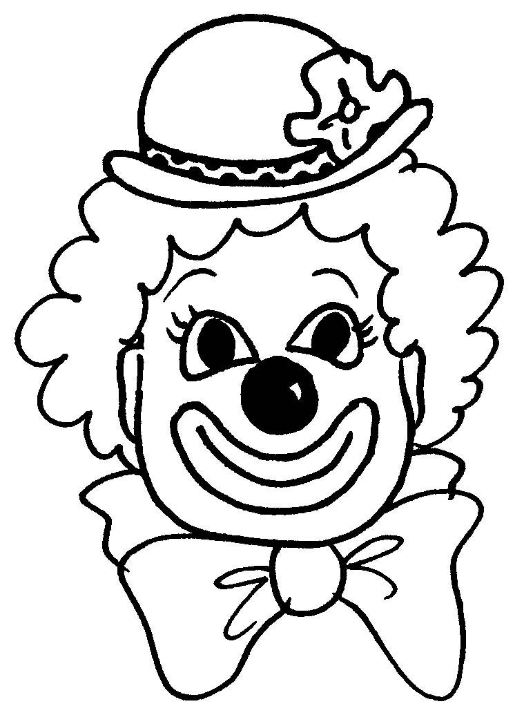 Coloriage Clown #91063 (Personnages) - Album de coloriages
