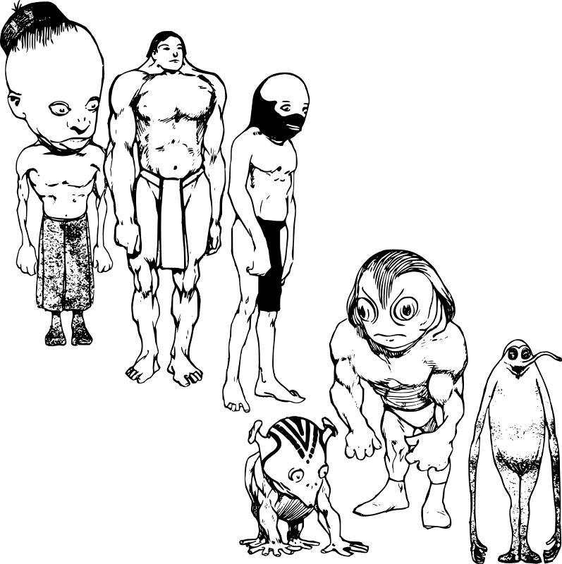 Coloriage Extraterrestre #49 (Personnages) - Coloriages à ...
