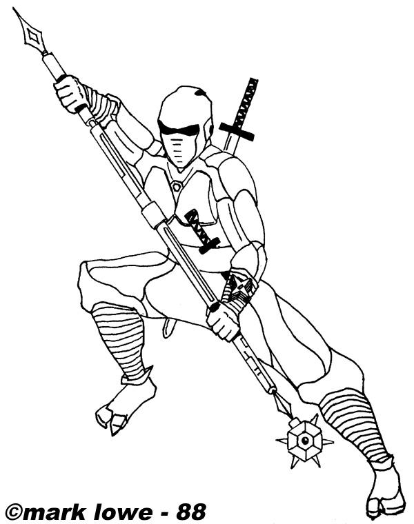 Coloriages Ninja (Personnages) - Page 2 - Album de coloriages