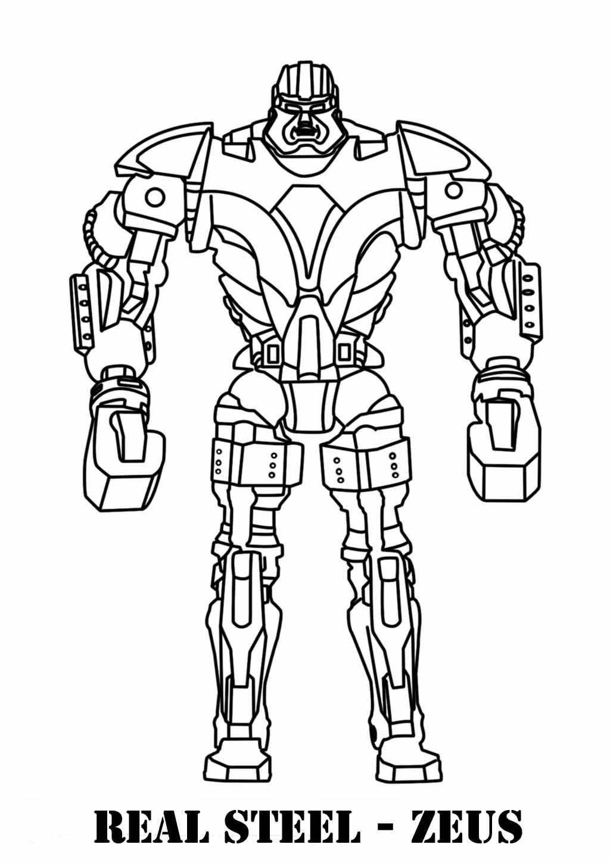 Coloriage Robot #29 (Personnages) - Coloriages à imprimer