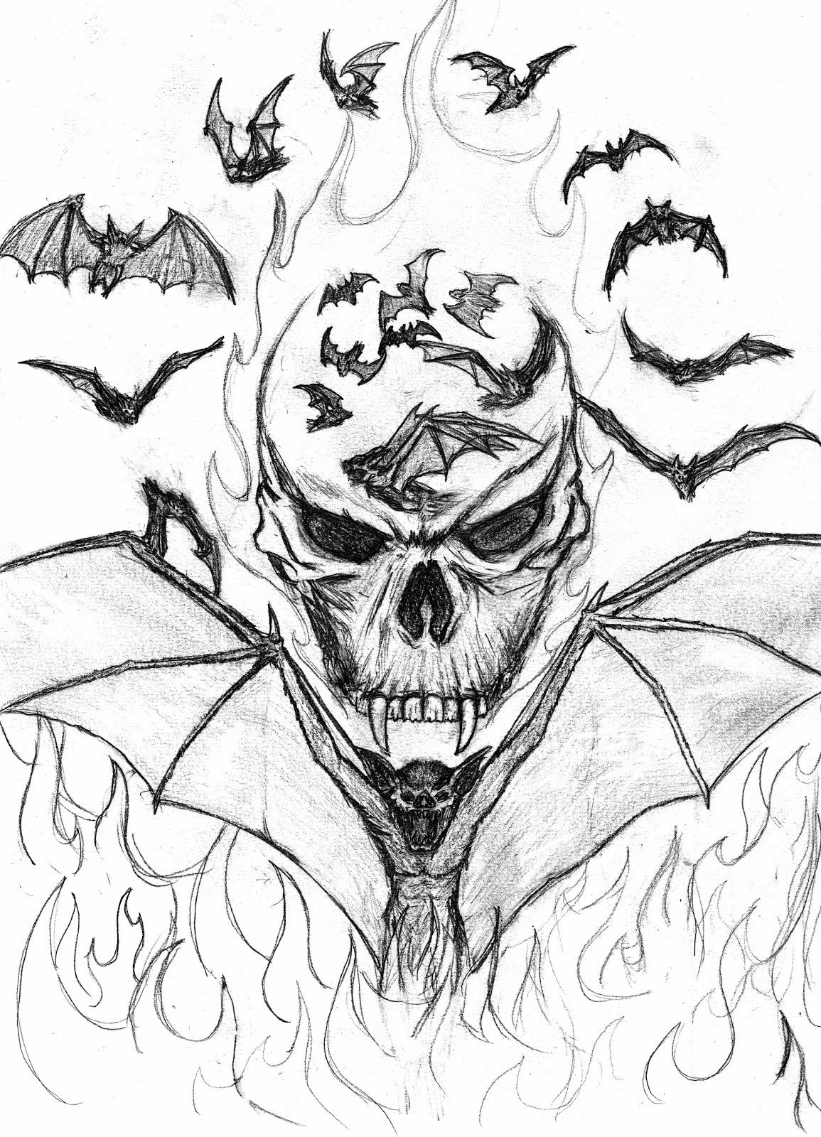 Coloriage Vampire #50 (Personnages) - Coloriages à imprimer