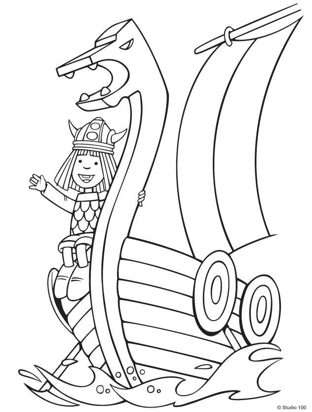 Coloriage Viking #35 (Personnages) - Coloriages à imprimer