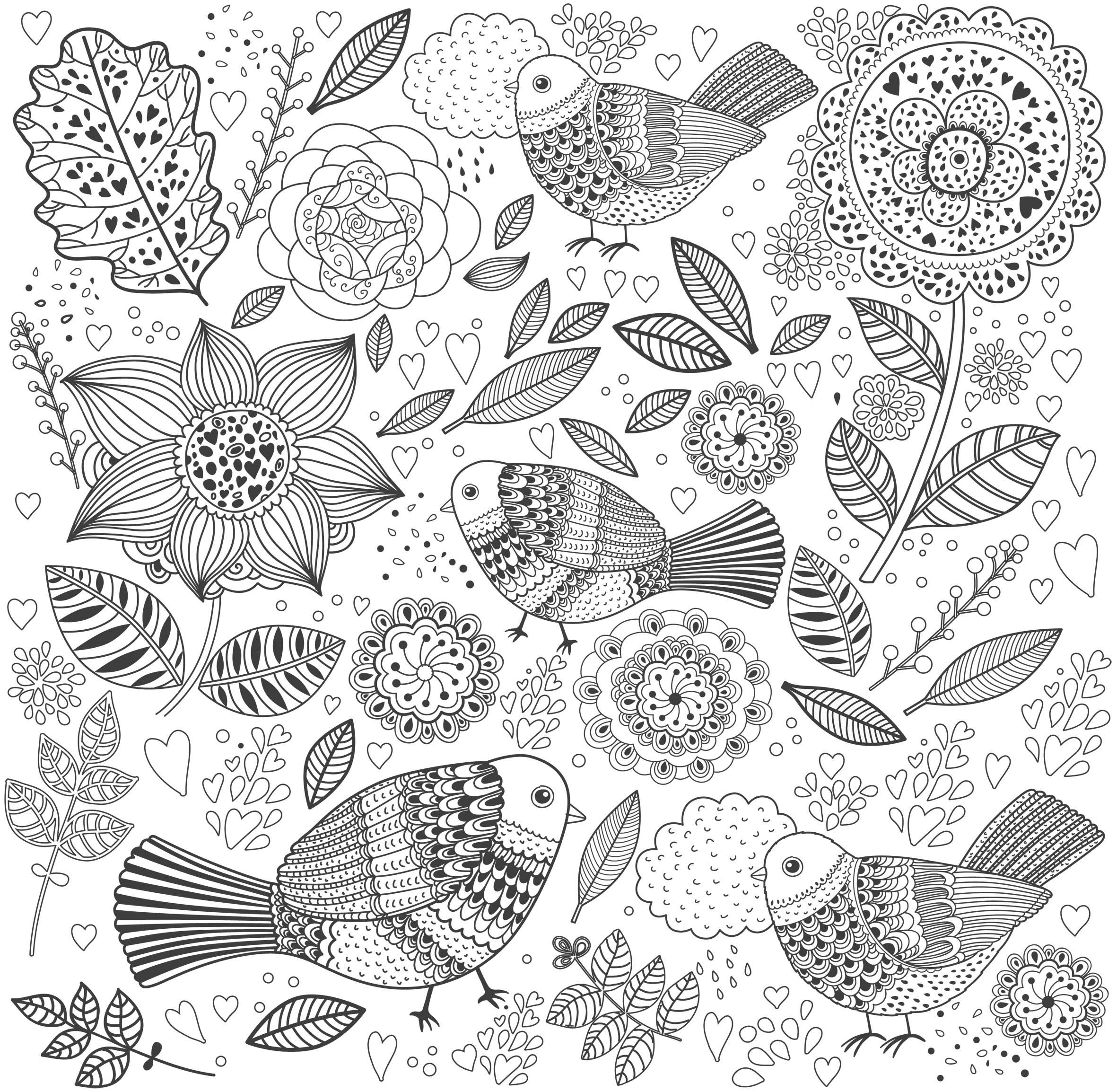 Coloriage Anti-stress #126952 (Relaxation) - Album de coloriages