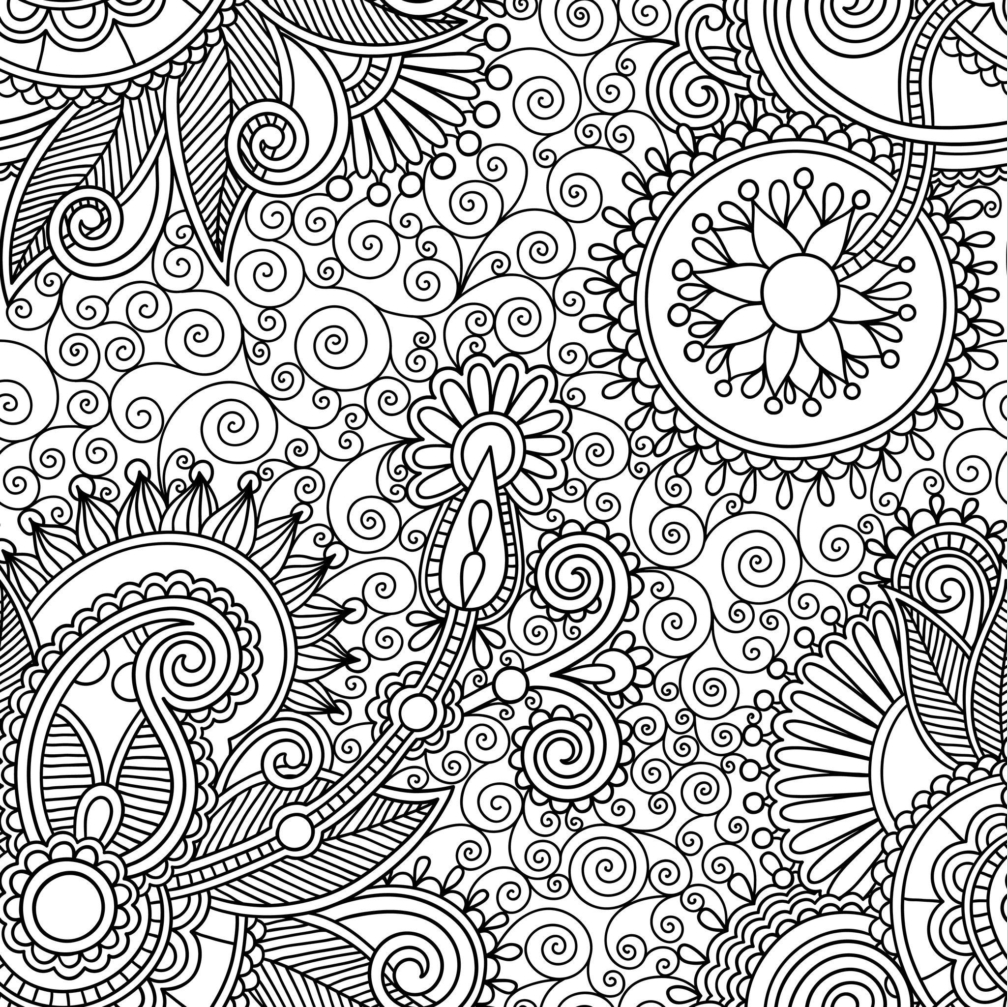 Coloriages Relaxation - Album de coloriages