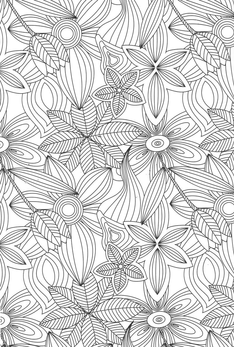 Coloriage Art Therapie 23138 Relaxation Album De Coloriages