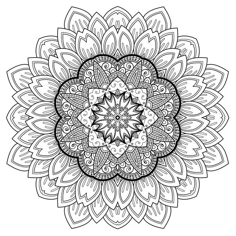 Coloriage Art Thérapie #23160 (Relaxation) - Album de ...
