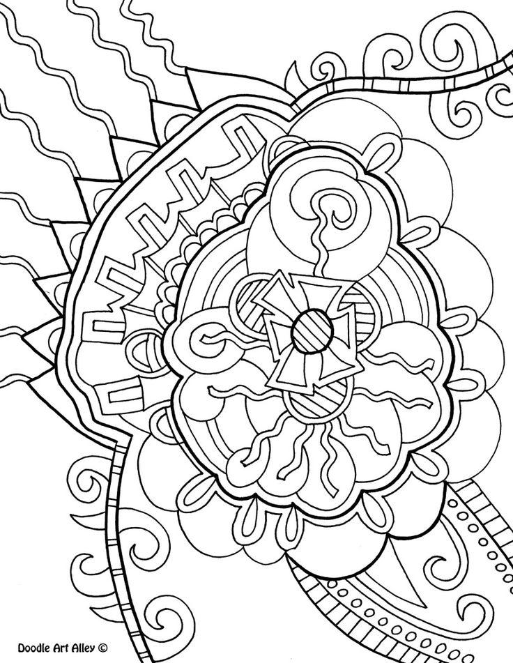 Coloriage Art Thérapie #23230 (Relaxation) - Album de coloriages