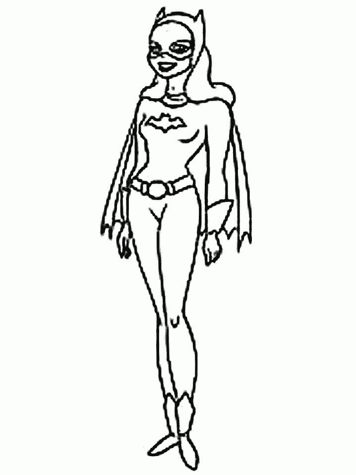 Coloriage Batgirl #16 (Super-héros) - Coloriages à imprimer