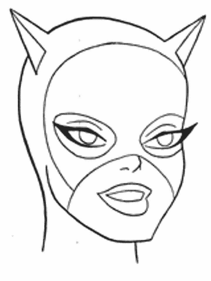 Coloriage Batgirl #77810 (Super-héros) - Album de coloriages