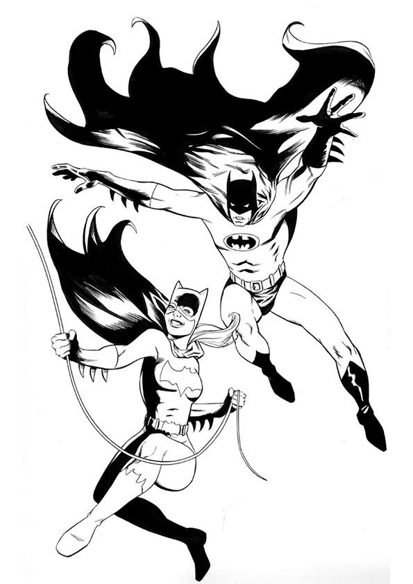 Coloriage Batgirl #26 (Super-héros) - Coloriages à imprimer