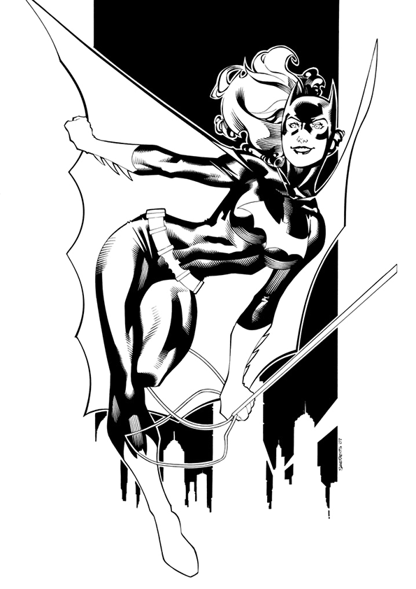 Coloriage Batgirl #77871 (Super-héros) - Album de coloriages