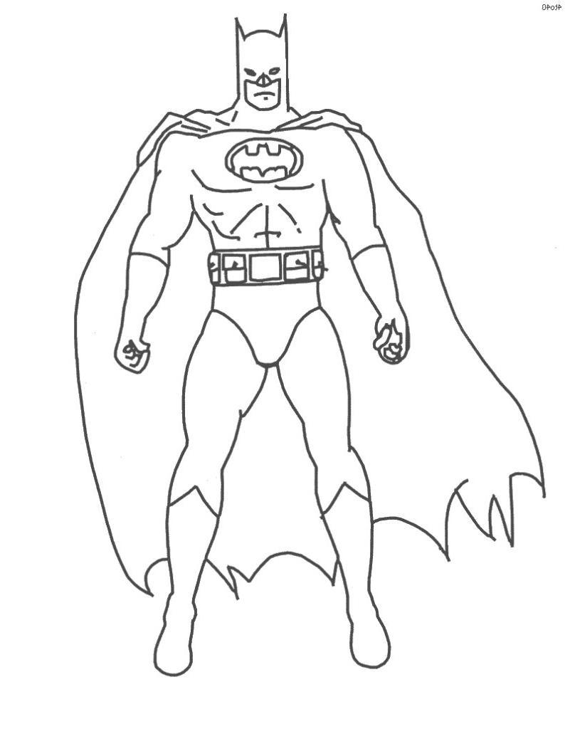 Coloriages Batman (Super-héros) - Page 2 - Album de coloriages